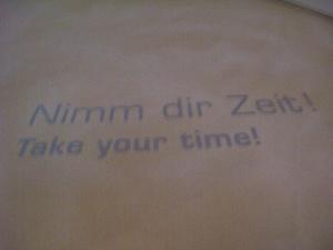 NimmDirZeit